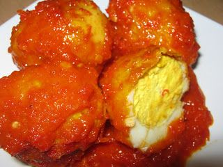 Telor Balado *chilli egg*