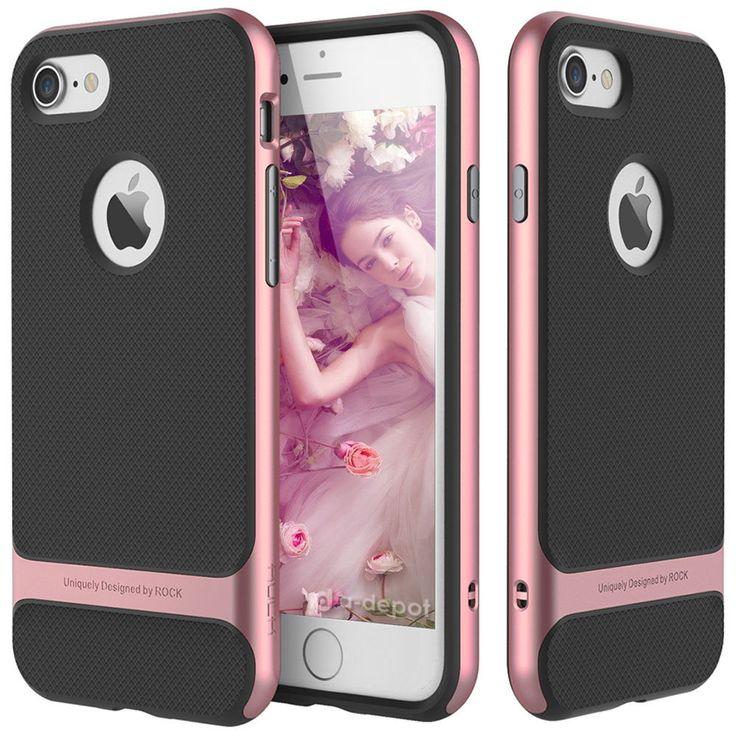 For Apple iPhone 7 / 7 Plus Slim Shockproof Hybrid Hard Bumper Soft Rubber Case - Rock® Royce✔IN STOCK✔Scratch-Proof✔Retail Box✔US Seller #bumper #soft #rubber #case #hard #hybrid #iphone #plus #slim #shockproof #apple
