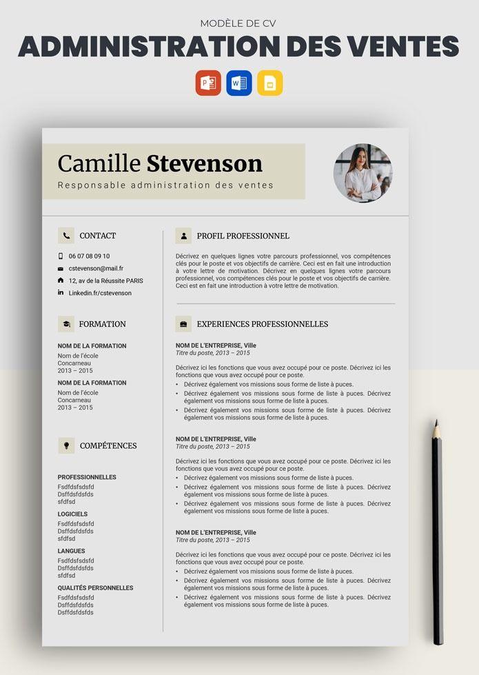 Cv Administration Comptabilite Exemple De Cv Classique Word Doc En 2021 Exemple Cv Cv Classique Modele Cv