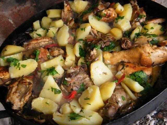Pollo al Disco de Arado | Hispanic Kitchen