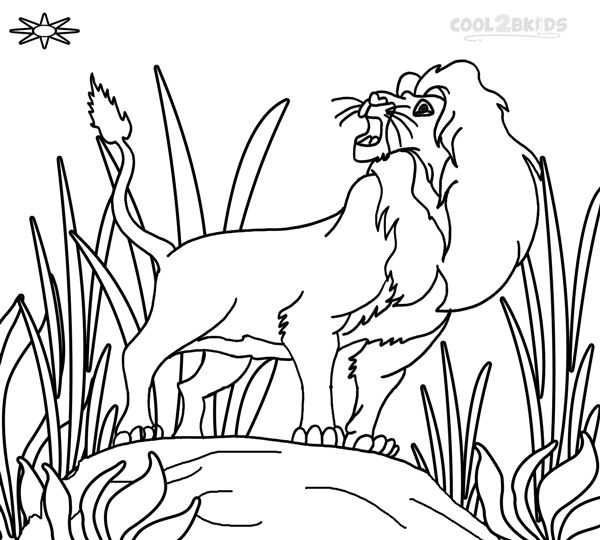 simba coloring pages  horse coloring pages coloring