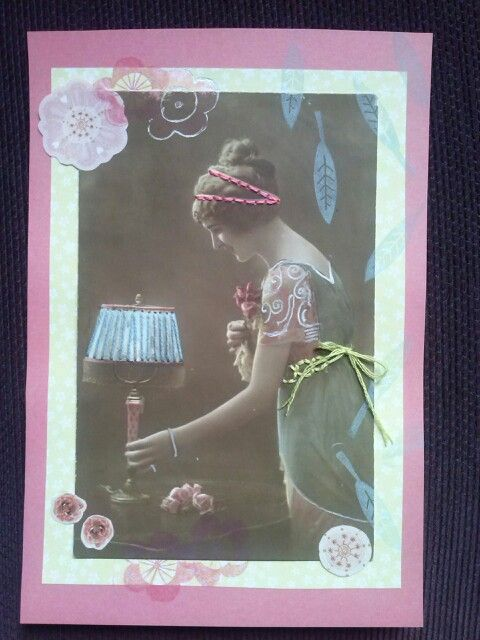 Card made from old picture 1