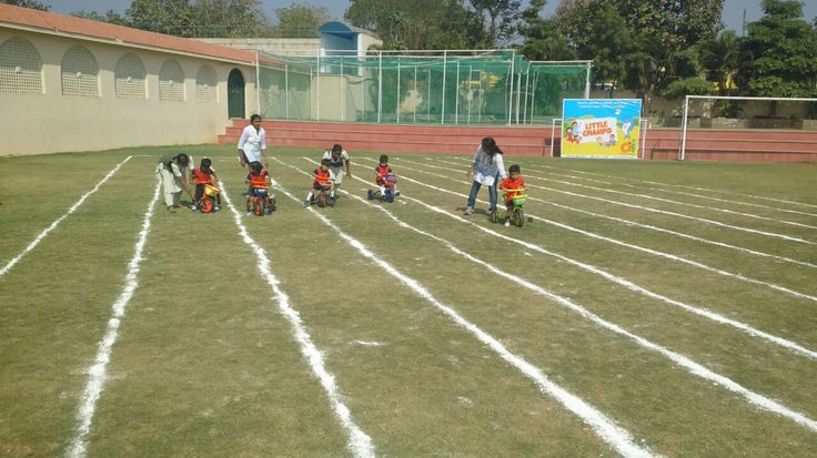 Little Champs Sports Day @ Oi Playschool,,,Hyderabad www.oiplayschool.com