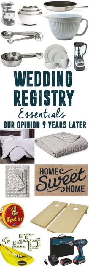 Wedding Registry Must Haves www.BrightGreenDo...