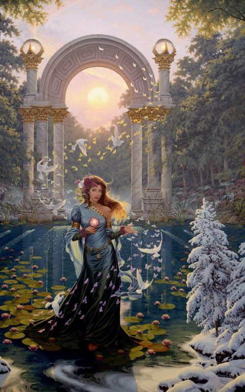 Great Masterpieces of Jonathan Earl Bowser - The awakening