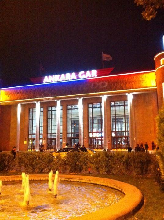 Ankara, Ankara konumunda Ankara Garı