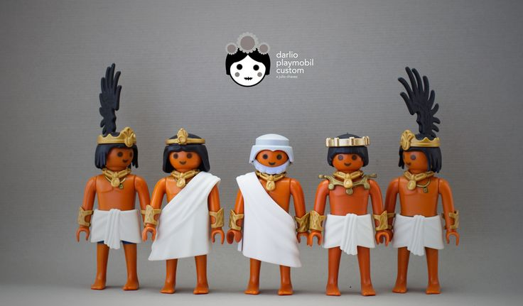 Aztec Empire Playmobil Custom
