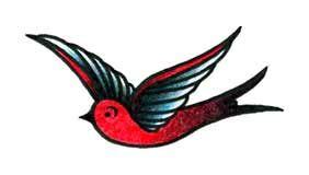 Foto tatuaje de Golondrina