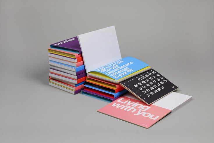 Calendar and slipcases - homework