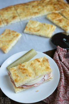 Easy no carb keto pork rind bread recipe