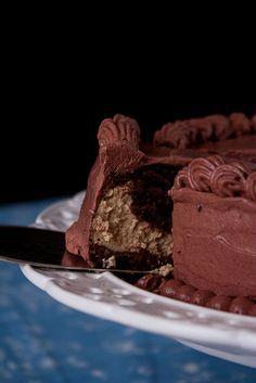 Шоколадно-кофейный чизкейк - My recipe book