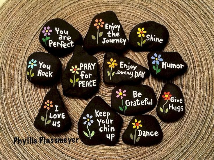 170 Great DIY Painted Rocks With Inspirational Words and Quotes Ideas – Roomizy