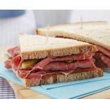 New York's pastrami sandwich