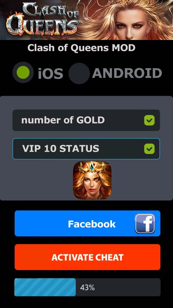 How to get gold and VIP 10 for Clash of Queens? Our new fantastic Clash..  http://moddedapk.online/getting-gold-for-clash-of-queens-dragons-rise/