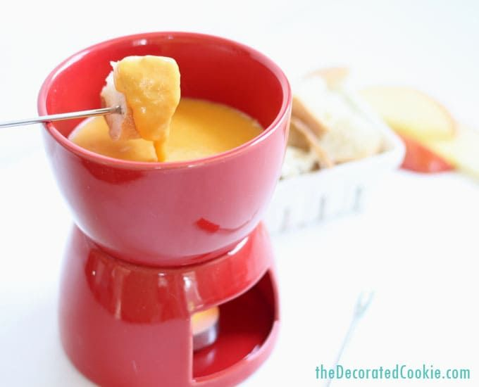 how to make EASY beer and cheese fondue