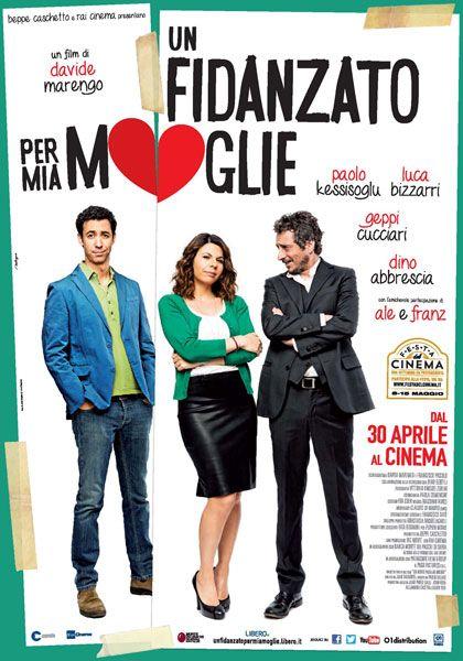 """Davide Marengo, """"Un fidanzato per mia moglie"""", Italia, 2014...un po' senza capo ne coda, però Geppi Cucciari è sempre divertente e simpatica"""