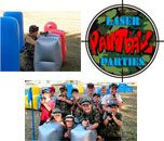 Laser Paintball Parties are a fun, safe and exciting game that takes kids off the couch and into physical outdoor war games.  It is a concept of paintball without the pain. The equipment is eye safe, no pain and hours of kid party fun.