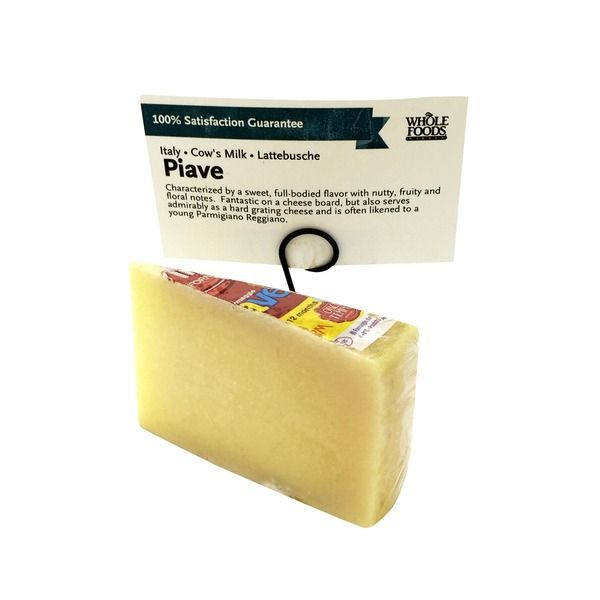 piave cheese wheels whole foods cut products forward lattebusche piave ...
