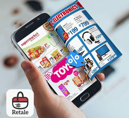 Save more when shopping local! Free app for local ads. Download Retale for coupons from Walmart, Target, and your favorite retailers.