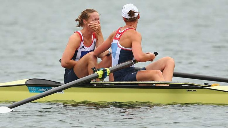 Women's rowing pair Helen Glover and Heather Stanning have won Team GB's first gold medal of the London Olympics.
