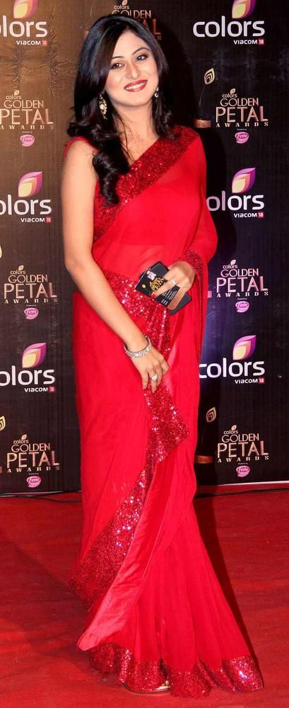 Falak Naaz at the third edition of the Colors Golden Petal Awards.