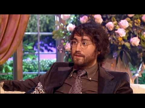 Sean Lennon Interview On The Sharon Osbourne Show part 1 julien sings just like his dad.