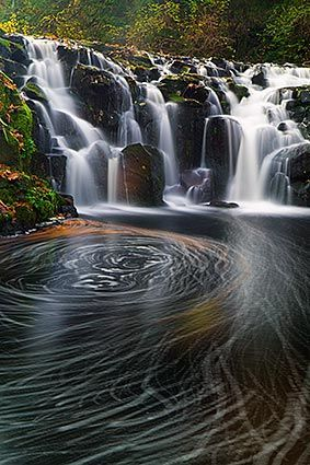 Upper Beaver Creek Falls, Columbia River Gorge, Oregon