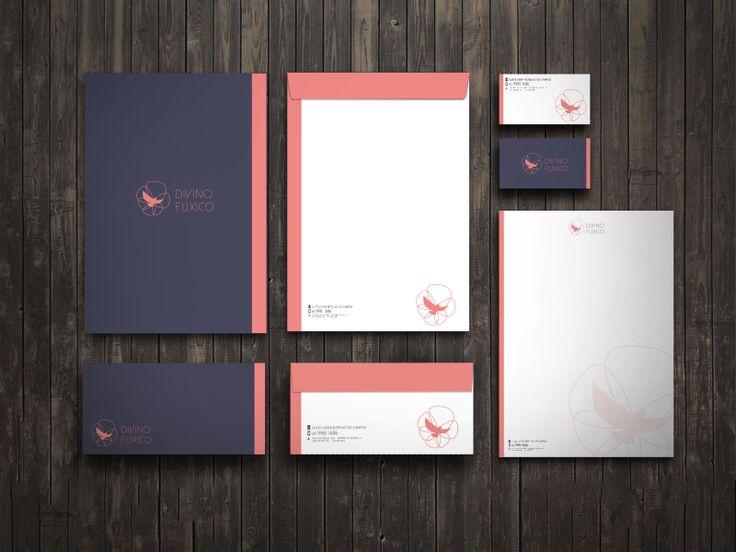 Divino Fuxico - Envelopes, Papel Timbrado e Cartão.