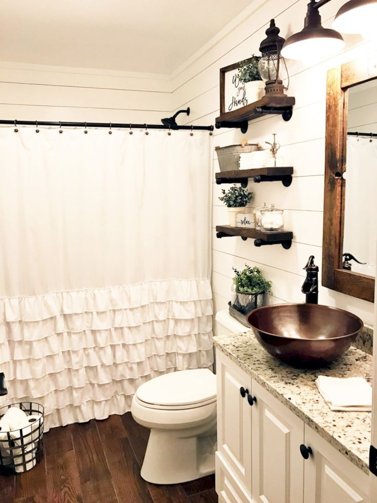 Incredible half bathroom decor ideas (30)