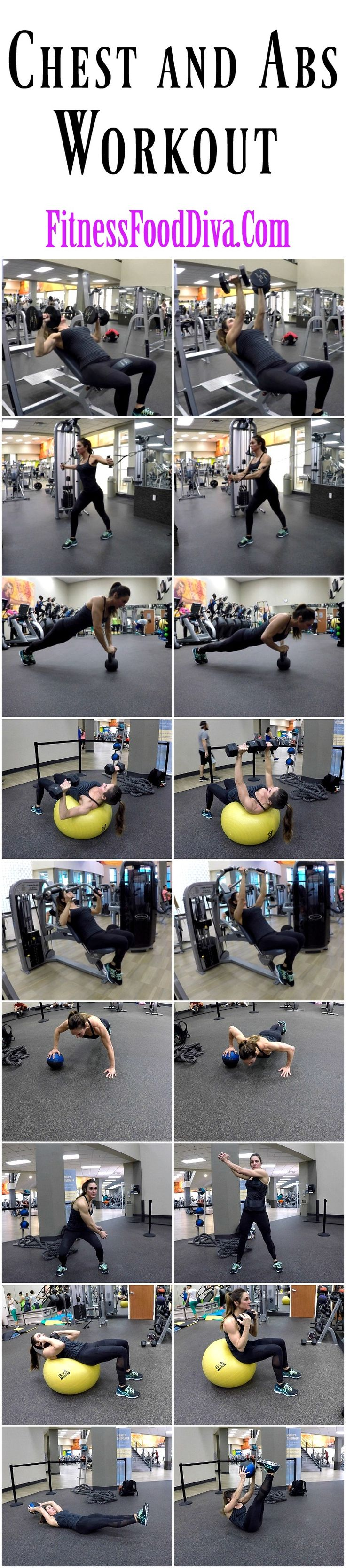 Sculpt your Chest and Abs with this great workout!