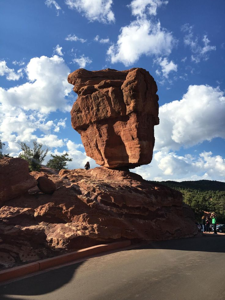 Mother Nature never ceases to amaze! Balanced Rock at Garden of the Gods Park in Colorado Springs (AAA Inspector 19).