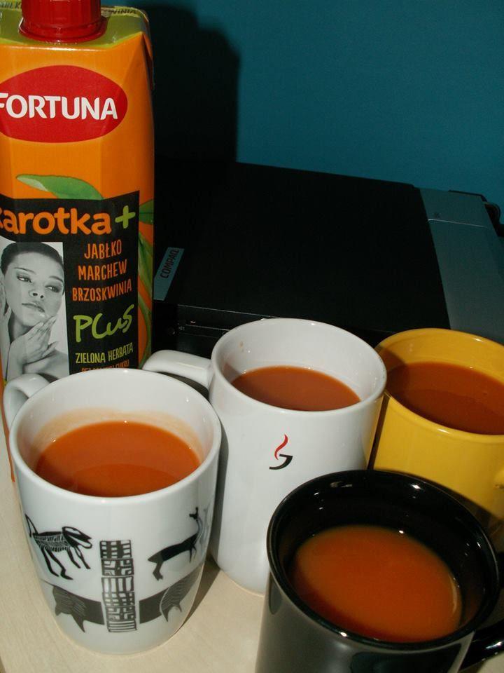 Przerwa w pracy na #sokfortuna #KarotkaPlus