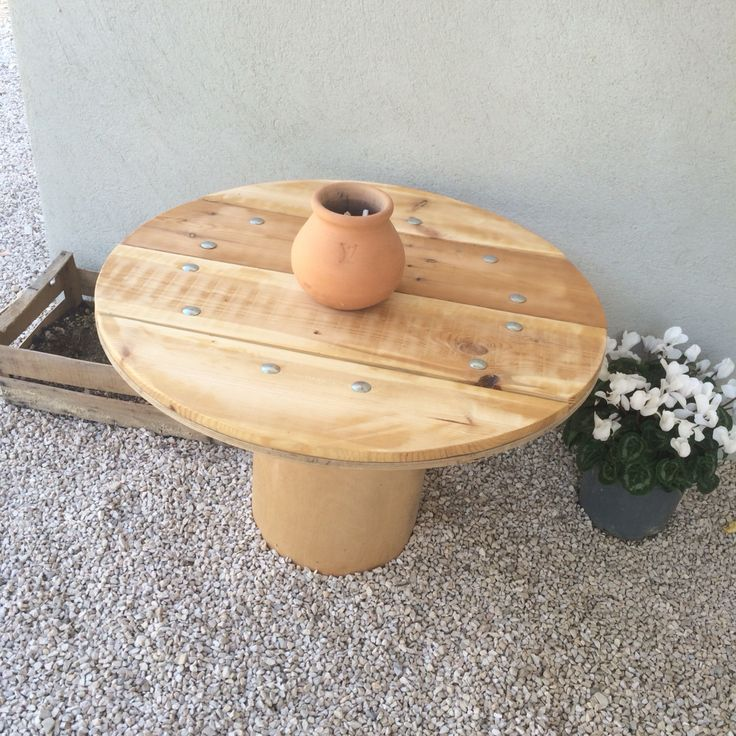 Wood Table outdoor