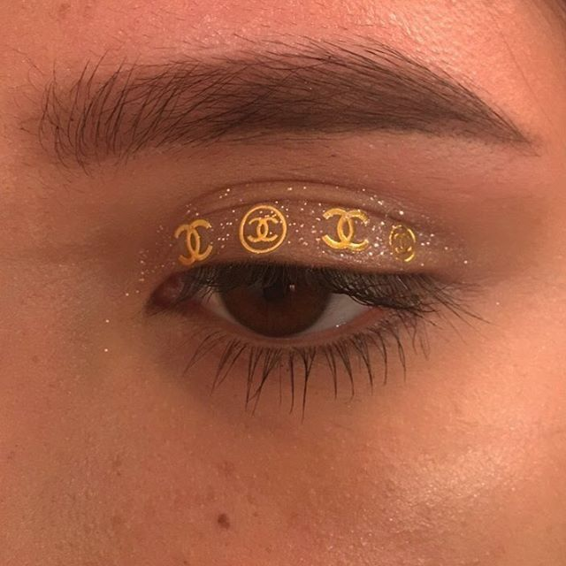 Chanel eye make up, editorial beauty