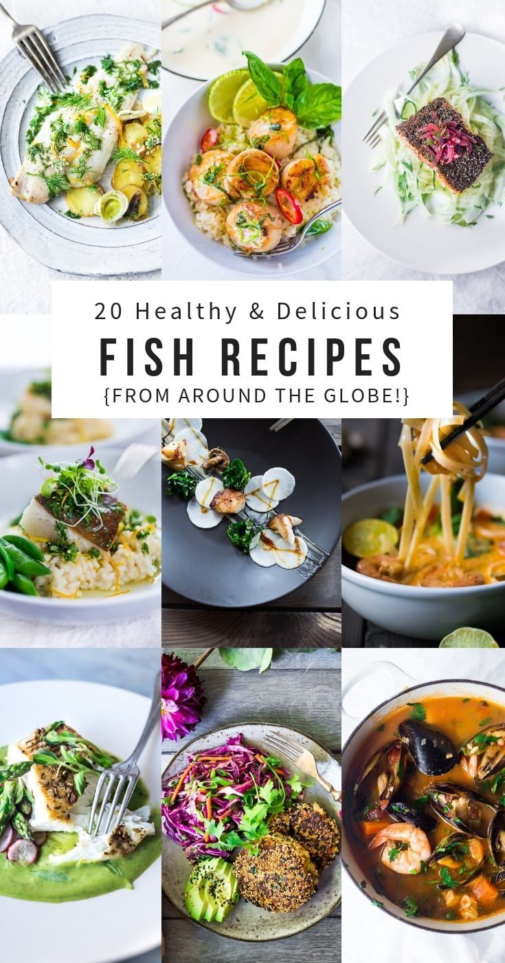 20 Simple Healthy Fish & Seafood Recipes – #Fish #healthy #recipes #seafood #simple