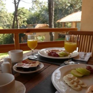 Breakfast in Bosque Escondido Hotel boutique in mazamitla Jalisco