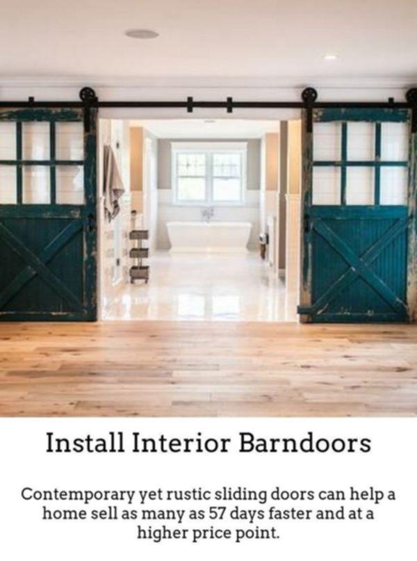 Barn Door Company | Two Sliding Barn Doors | Buy Interior Barn Doors |  Decorative Sliding