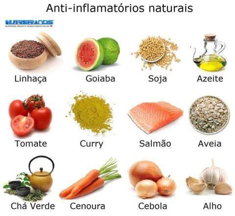 10 Anti-inflamatórios Naturais