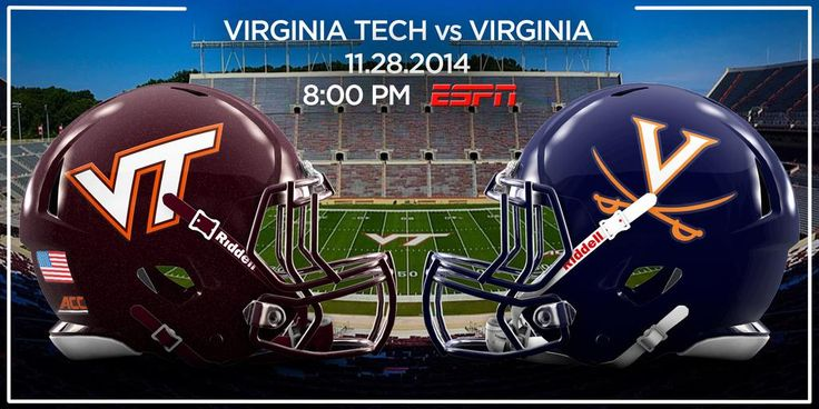 Who is ready for the big game tonight? Let's Go Hokies!!