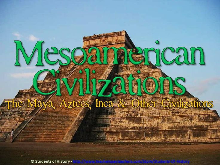This is a fantastic, thorough, and visually-engaging 34-slide PowerPoint on the Maya, Aztec, Inca, and other Meso-american civilizations. Each pre-Columbian civilization is covered in detail, including where they were located, when they flourished, their contributions, and more. Each slide includes fantastic visuals that will engage your students and keep them focused on your lesson.