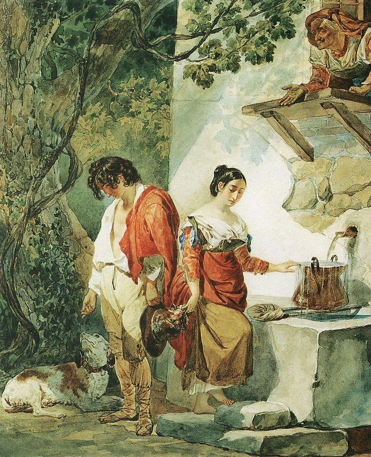 The Athenaeum - BRYULLOV, Karl Pavlovich Russian Romanticism (1799-1852)_An Interrupted Date- 1823-1827