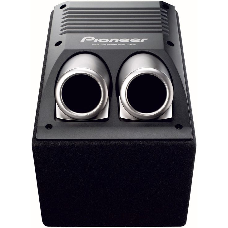 Subwoofer auto Pioneer TS-WX206A, 20 cm, 150 W