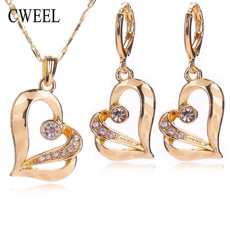Trendy African Imitated Crystal Beads Jewelry Sets For Women Wedding Party Accessories Zinc Alloy Necklace Stud Earrings Pendant