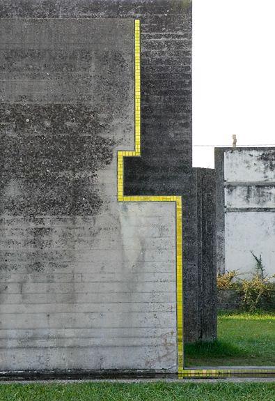 MOVIMENTO SILENCIOSO _ insideoutarch:    Loving Tomba Brion. #sport #minimalismo