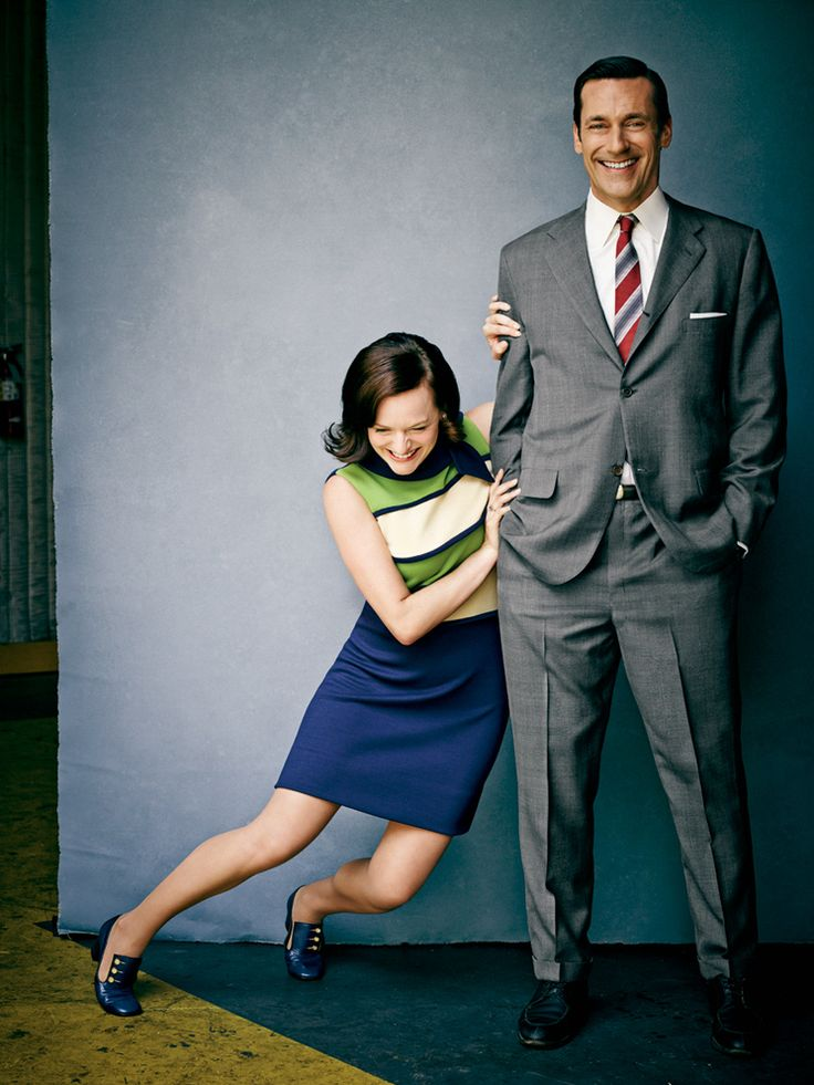 Elisabeth Moss and Jon Hamm's scenes together were the main reason I watched Mad Men (aside from the music and clothing)