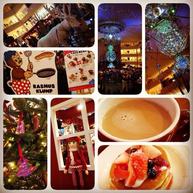 Instagram media _hwami_2 - #パンケーキ#pancake #スイーツ#sweets#tea #rasmusklump #ラスムスクルンプ #デンマーク#denmark #阪急百貨店#北欧 #christmas#クリスマス #illumination#イルミネーション 2014/12/11 梅田阪急の北欧マーケット 今年も阪急の催事楽しかった。