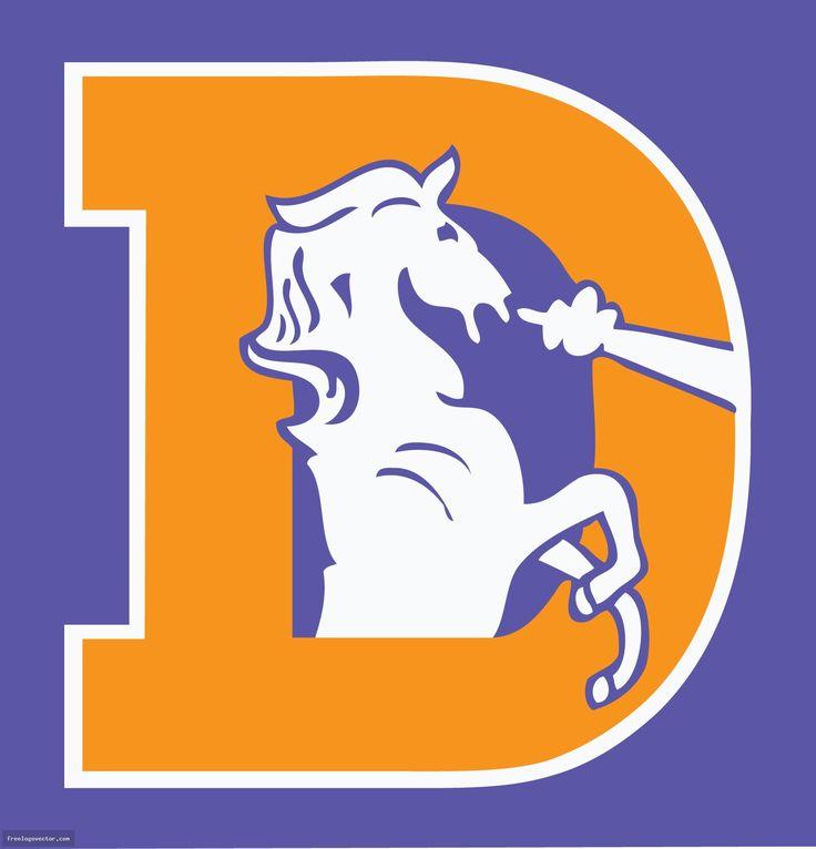 Denver Broncos Old Logo NFL