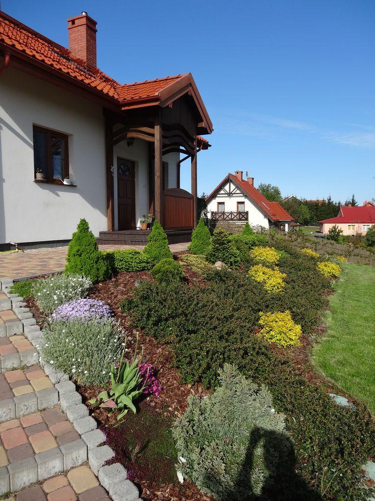 miniaturka ogród na skarpie