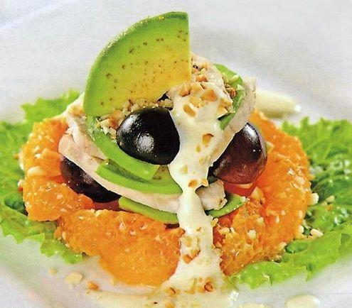 Салаты с авокадо - TalkyLand