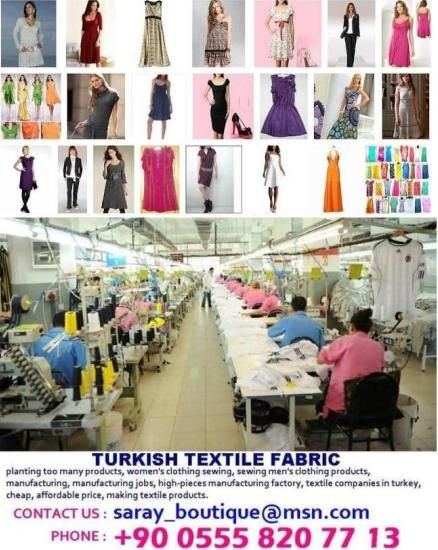 ladies dress cheap production and manufacturing, men's wear, children's wear, work wear, working clothes, doctor gown, nurse uniforms, cheek firms, mass production, quality textile products factories, china and textile companies in turkey, low price high quality production, male women's fashion, costume, sportswear, T-shirts, jackets, coats, home textiles, women's underwear, dresses, summer and winter production,